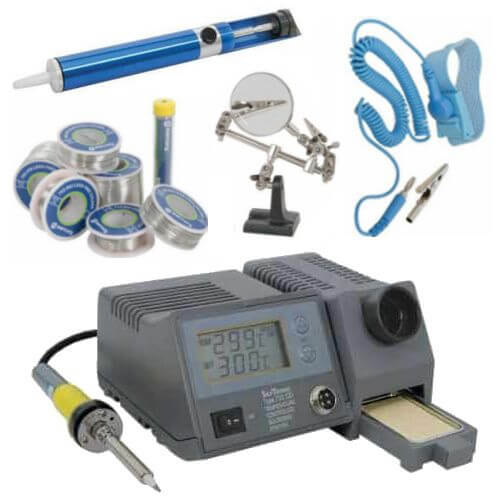Soldering Equipment and Accessories | Quasar Electronics