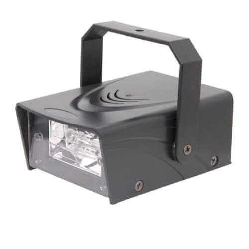 Mini Strobe Lights | LED | Xenon | Colour | Quasar Electronics