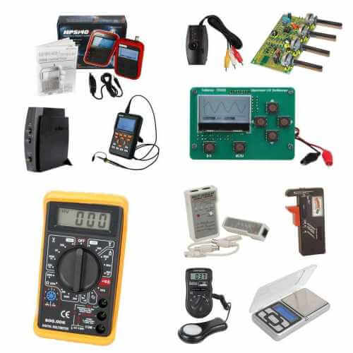 Test Measurement Equipment Ranges | Quasar Electronics