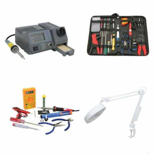 Tools and Service Equipment Product Ranges | Quasar Electronics