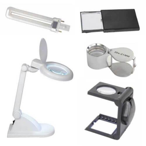 Magnifiers | Handheld Benchtop Illuminated | Quasar Electronics