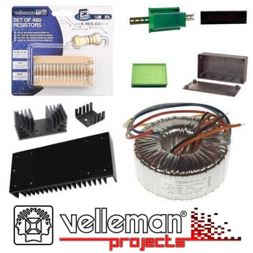 Velleman Hardware Component Categories | Official UK Stockist | Quasar