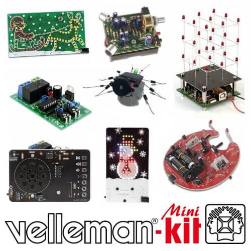 Velleman Mini Kits Range | Official UK Main Dealer | Quasar Electronics