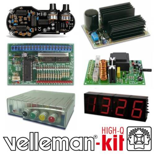Velleman Project Kit Range | Official UK Stockist | Quasar Electronics