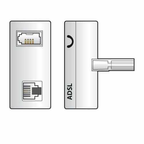 ADSL Telephone Splitters Filters   Quasar Electronics