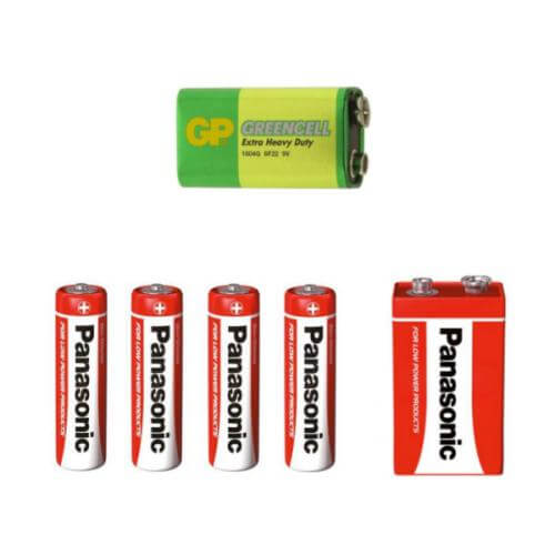 Zinc chloride Batteries | Quasar Electronics UK