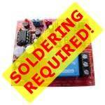 SELF-ASSEMBLY 12Vdc Instant/Delayed-On Timer Relay Board Electronic KIT
