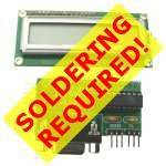 SELF-ASSEMBLY Serial LCD Display Controller Electronic KIT