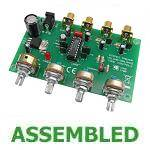 PRE-ASSEMBLED Stereo Preamplifier with Tone Controls Module
