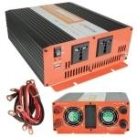 12Vdc to 230Vac, 1500W Soft Start Power Inverter