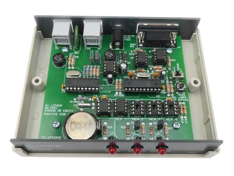 Telephone Call Logger (Real-time / Stand-alone / Serial Interface)