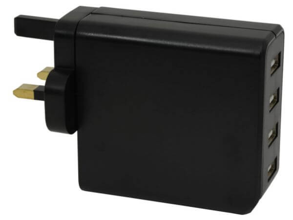 4 Port USB Mains Charger 4.8A