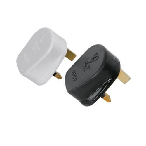 3-Pin Fused UK Mains Plugs - Various Options