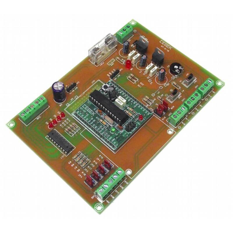 ATMega328 Expansion Board with 4x NPN Outputs