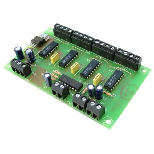 Up/Down Counter Driver Module with 4-Digit BCD Output