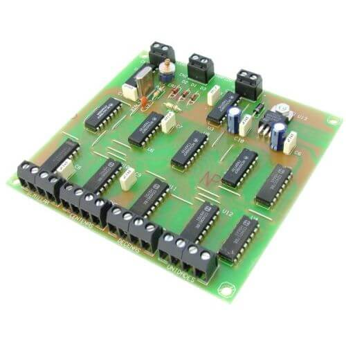 Digital Clock Driver Module with 4-Digit BCD Output
