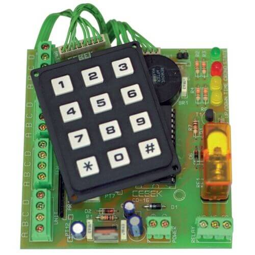 Cebek CD-16 Chronometer Driver Module with 4-Digit BCD and Relay Ouputs | Quasar UK