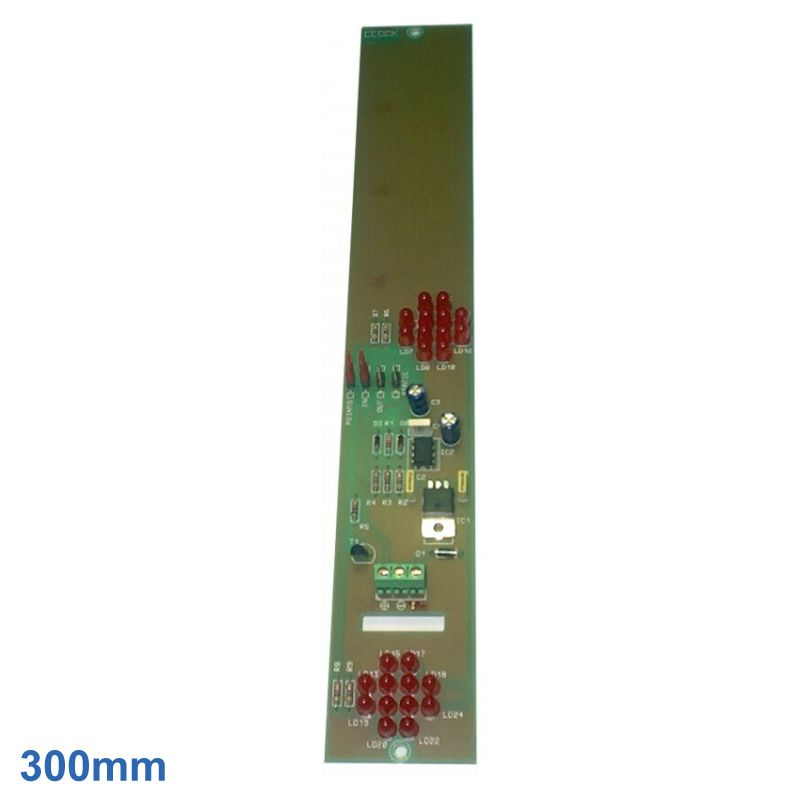 300mm 2-Dot Hour Bridge /  Decimal Point Red LED Display BCD Module