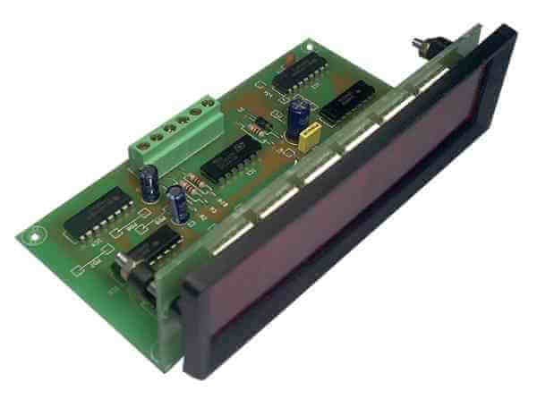 6-Digit UP Counter Module (13mm Digits)