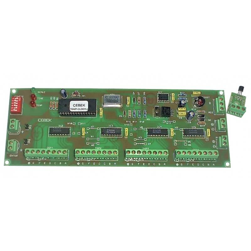 Digital Clock/Thermometer Driver Module (Multiplexed 4-Digit Output)