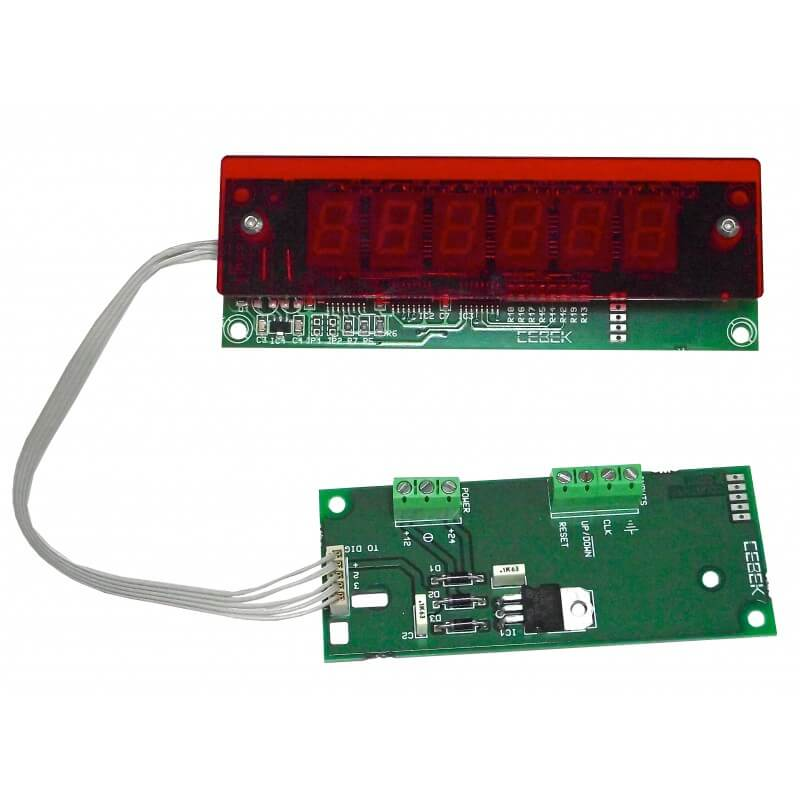 6-Digit Up/Down Counter Module (13mm Digits)