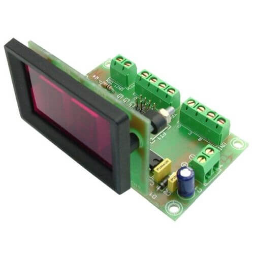 13mm High, 2-Digit, 7-Segment BCD LED Display Module