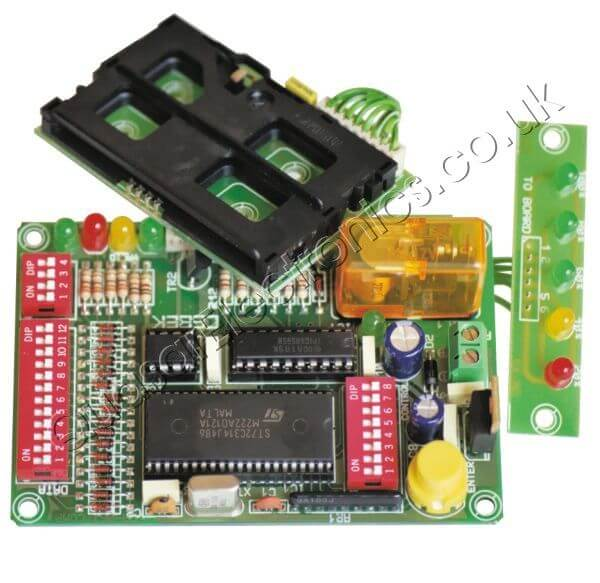 Chip-Card Credit Counter Relay Timer Module
