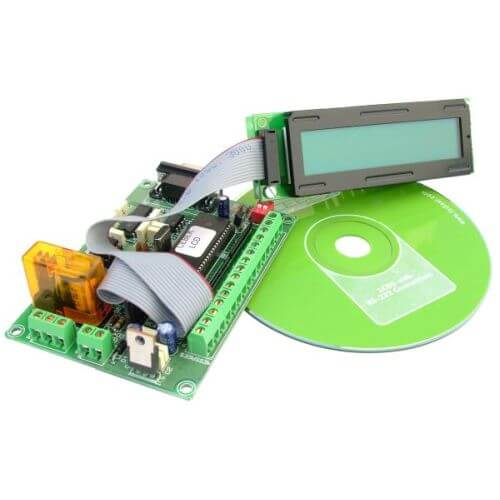 50 Message Programmable LCD Display (20x2 Illuminated)