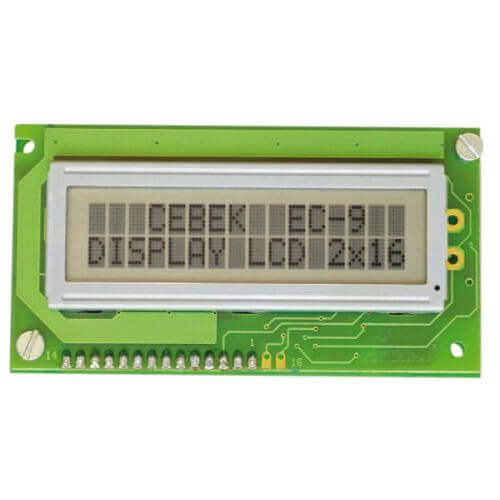 Cebek EC-9 14 Personalised LCD Display - 16x2 | Quasar Electronics UK