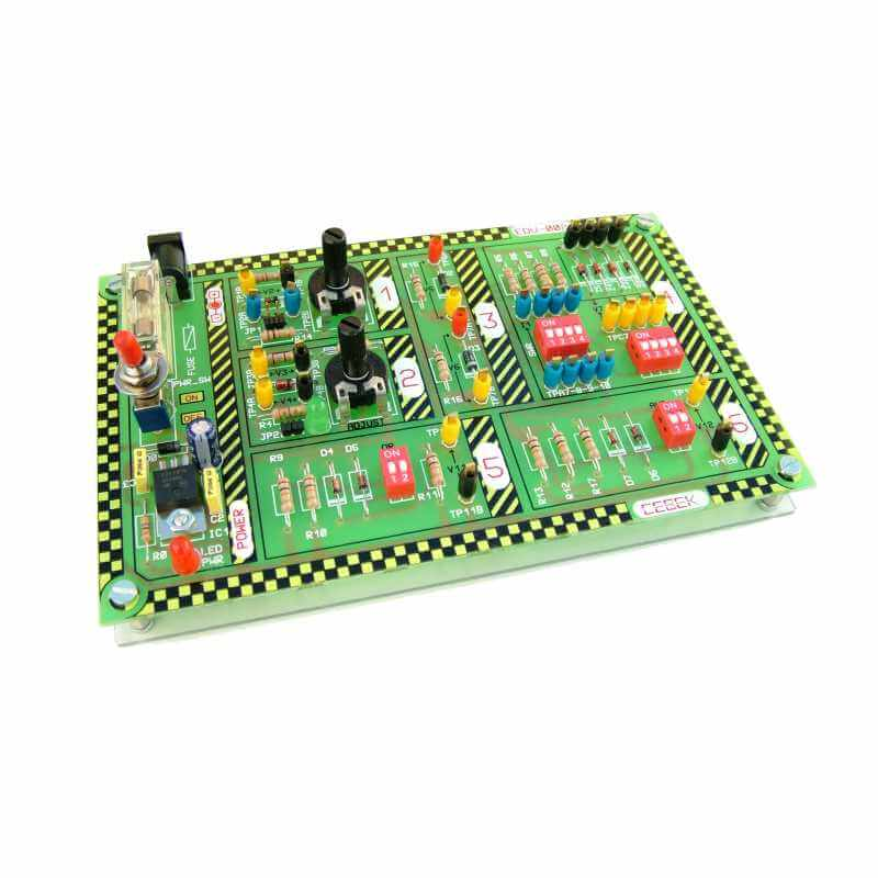 Diode and Zener Diode Educational Experimenter Board