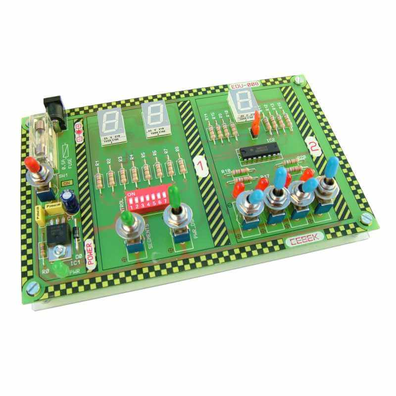 Cebek EDU-008 7-Segment LED Educational Experimenter | Quasar UK