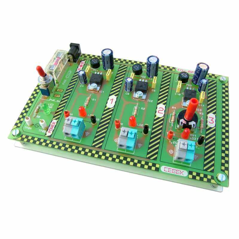 Power Supply Design Educational Demo Board