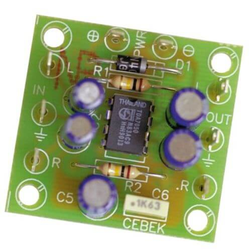 Headphone Stereo Audio Power Amplifier Module (TDA7050)