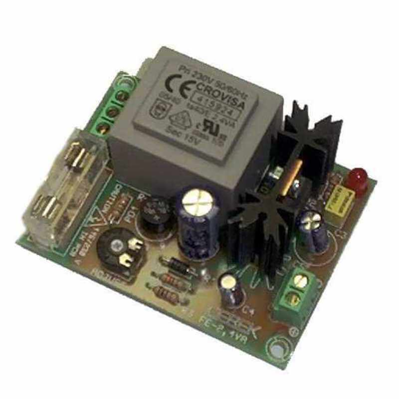Cebek FE-103 (CFE103) - Power Supply Module, 230Vac to 12Vdc, 130mA