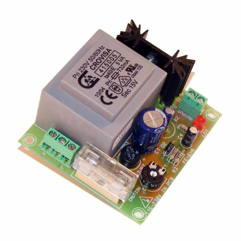 Power Supply Module, 230Vac to 12Vdc, 270mA