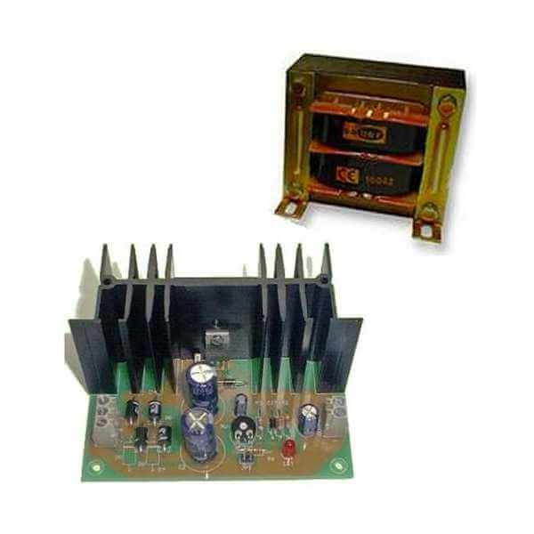 Power Supply Module, 12Vdc, 5A with 230Vac Chassis Transformer