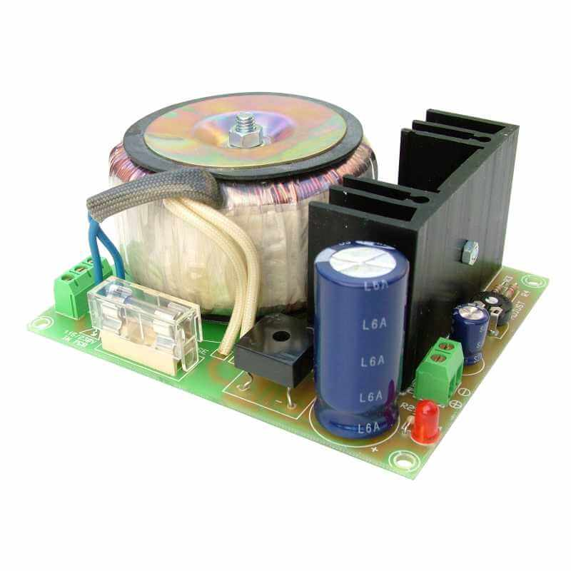 Toroidal Power Supply Module, 230Vac to 5Vdc, 2.5A
