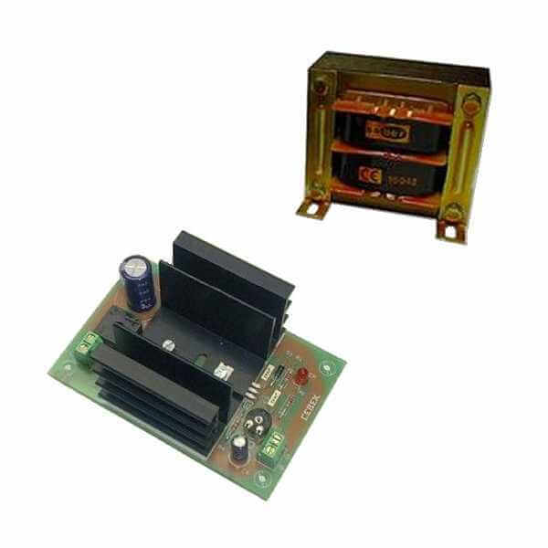 Power Supply Module, 24Vdc, 2A with 230Vac Chassis Transformer