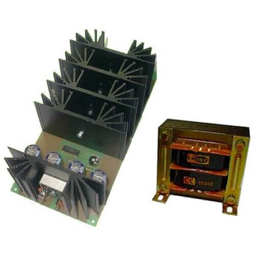 Power Supply Module, 12Vdc, 20A with 230Vac Chassis Transformer