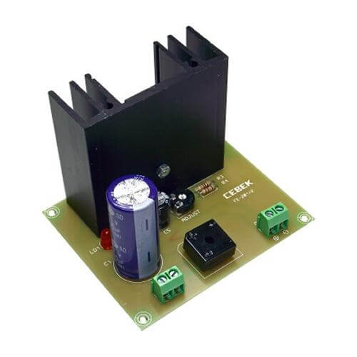 Cebek FE-202 Variable 3 - 27 Vdc, 2A Power Supply Module | Quasar UK