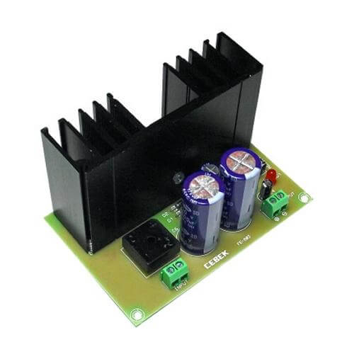 Cebek FE-203 (CFE203) - Variable Power Supply Module, 3 - 27Vdc, 4A