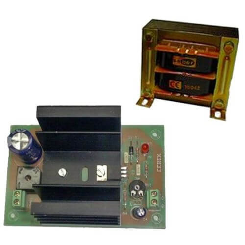 Power Supply Module, 9Vdc, 2A with 230Vac Chassis Transformer