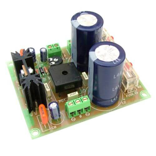 +/- 42V, 4A Dual Polarity Power Supply with 230Vac Chassis Transformer