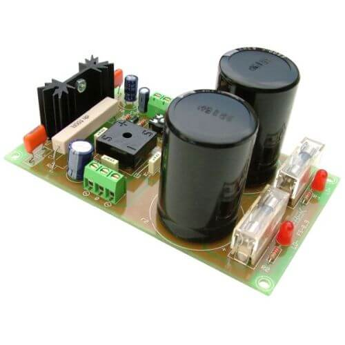 +/- 50V, 5A Dual Polarity Power Supply with 230Vac Chassis Transformer