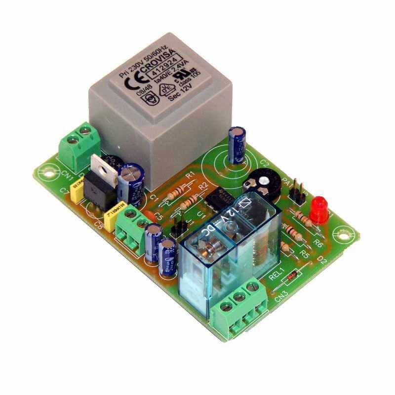 230Vac Delay Timer Relay Module, 30 Min to 4 Hour