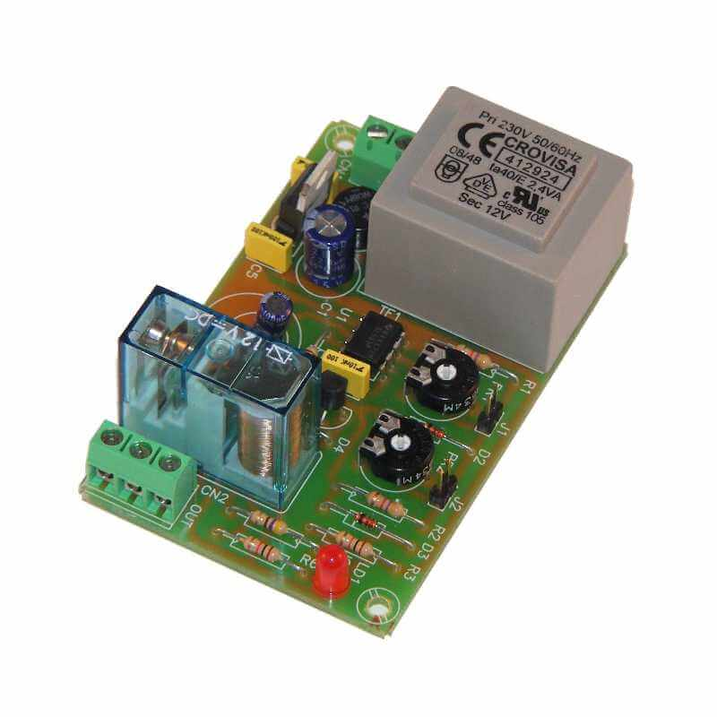 230Vac Cyclic Timer Relay Module, 1 Sec to 1 Min