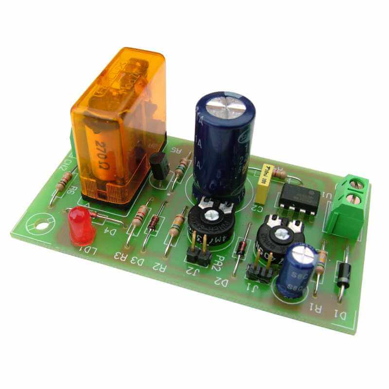 12Vdc Cyclic Timer Relay Module, 20 Min to 2.5 Hours