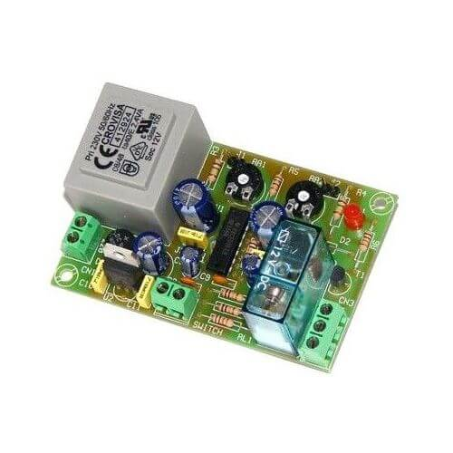 230Vac Double Delay Timer Relay Module, 2 - 45 Minute