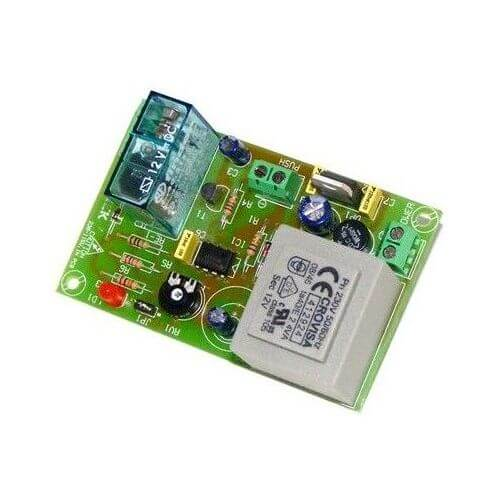 230Vac Turn-Off Delay Timer Relay Module, 1 to 180 Second