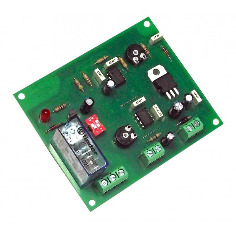 Voltage Increase Detection Relay Module, 7-18Vdc